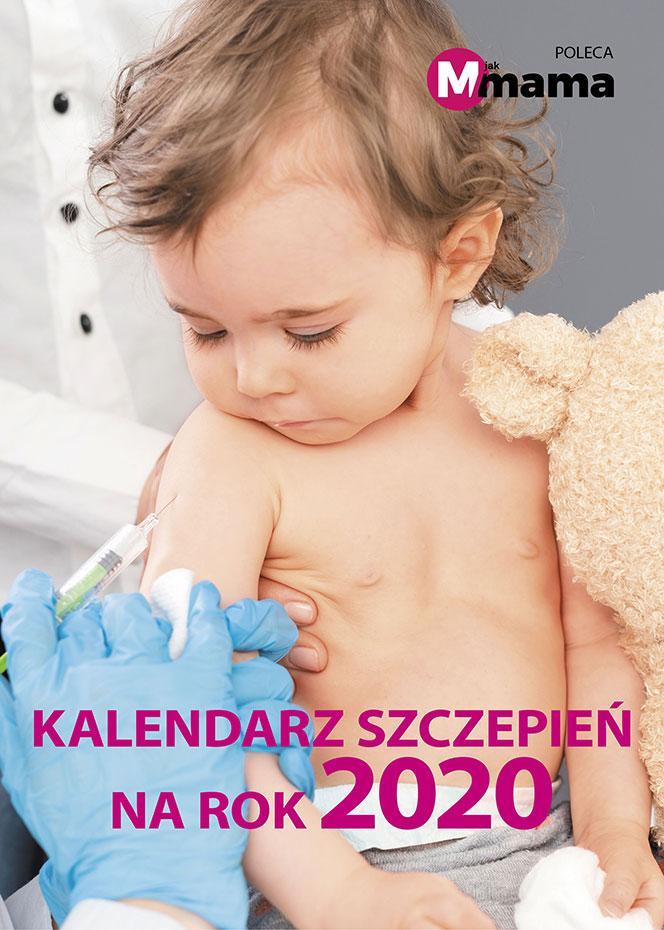 Kalendarz  szczepień na rok 2020