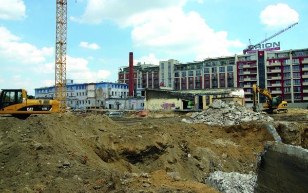Budowa na terenach poprzemysłowych - wybrane problemy geotechniczne